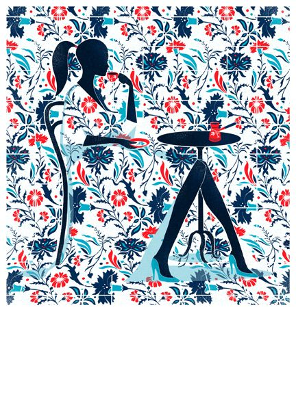 SHOP Istanbul style cover illustration by Pietari Posti, 2011. Prints for £30 - all profits will go to Kids Company, a London-based charity.