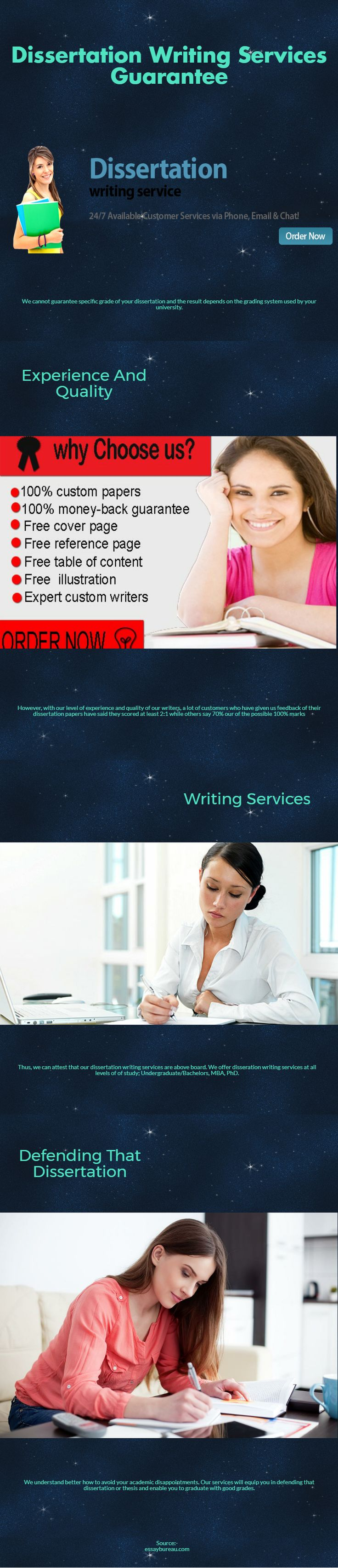 Dissertation Writing Services Guarantee A dissertation is an imperative element of your PhD and therefore, deserves much of your effort and attention. However, it is not just research and mere writing that encompass the vital components. https://essaybureau.com/dissertation-services/ #Nursing_Essays_Writing_service_Australia #Research_Paper_Writing_Service #Assignment_Writing_Services