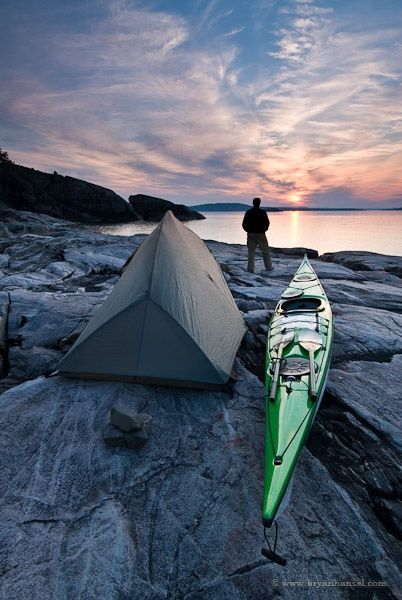 Great Lakes Camping Grand Island Lake Superior // went to the UP and want to go back - maybe camp here?