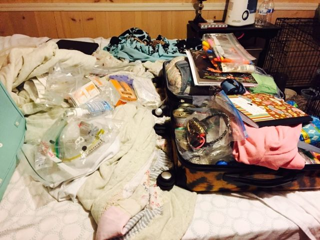 Chelle's hope, one day at a time.: Packing chronic