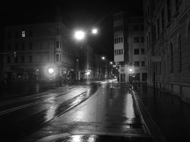 I Have Problems To Describe Why Like Wander Around During The Night Over Empty Streets Street By