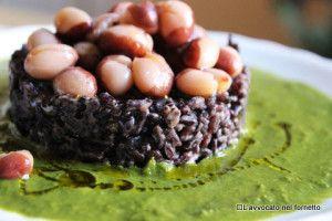 #riso venere #fagioli  Scopri tutte le #ricette: http://www.glutenfreetravelandliving.it/gffd-ricette/