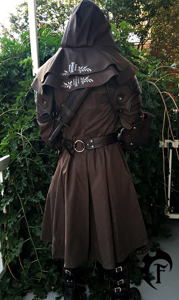 Interesting role-playing outfit from: Элина Корф