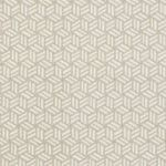 Schumacher TUMBLING BLOCKS GREIGE Fabric