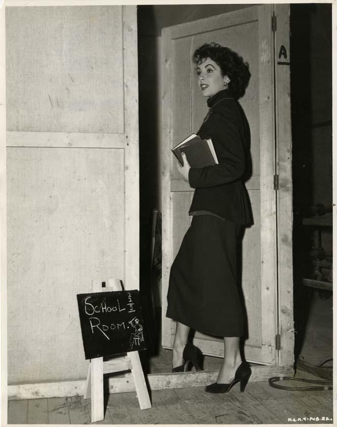 "Elizabeth Taylor portraits from ""Conspirator"" by Virgil Apger,(M-G-M, 1949)."