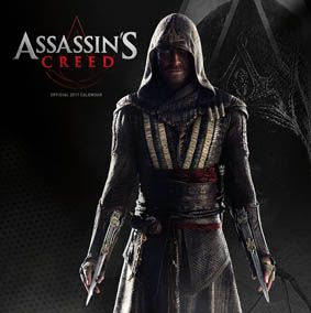 New Official Assassins Creed Movie 2017 Calendar available with FREE UK P&P (plus worldwide delivery available) at http://bit.ly/MovieCals2017