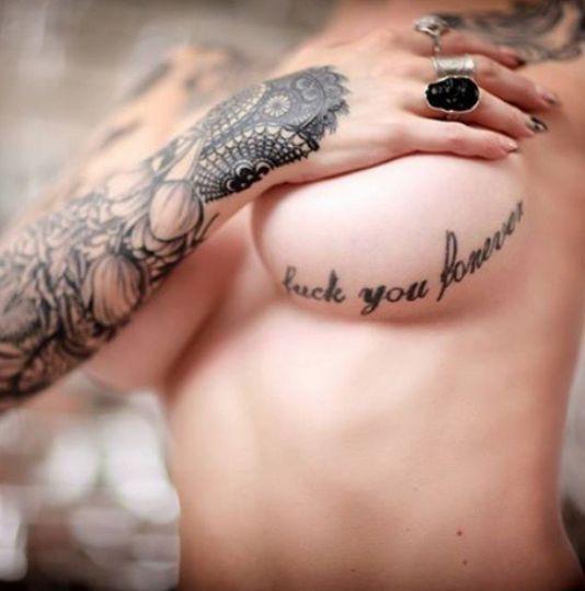 We TOTALLY LOVE Underboob Tattoos (10 Photos)