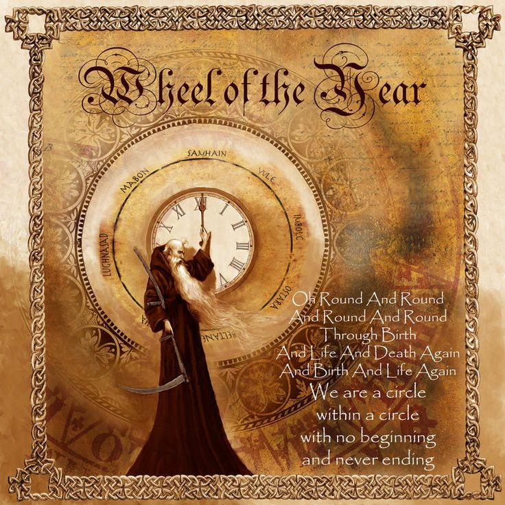 Wheel of the Year | Book of Shadows, Wheel of the Year, page 1 by *Brightstone on ...