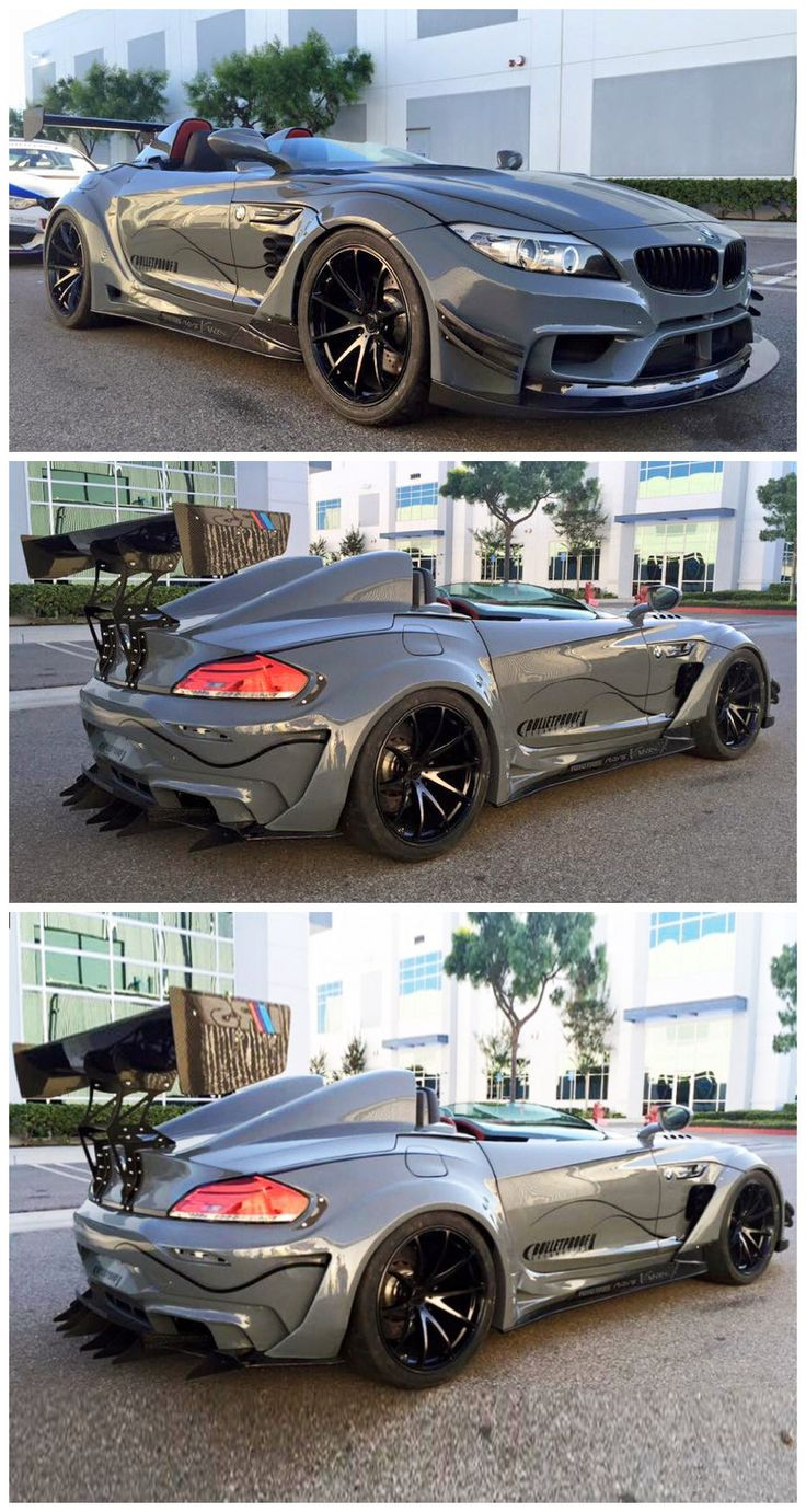 Bulletproof Z4 GT Continuum, hadn't seen these ever before.