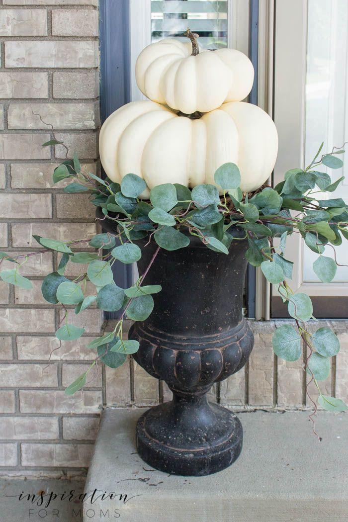 Easy DIY Fall Pumpkin Topiary