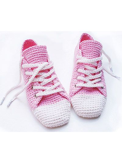 This fun sneaker pattern can be made to wear around the ...