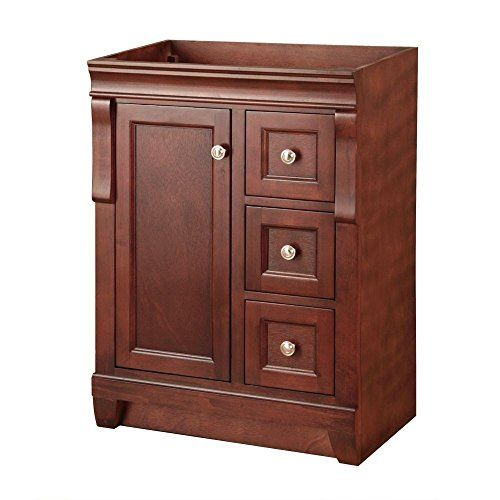 Photo Gallery For Photographers Foremost Naples in W Bath Vanity Cabinet Only in Warm Cinnamon with Right Hand The Home Depot