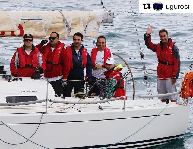 Doğu Ege Yelken Haftası kapsamında bugün yapılan Çakabey 936 Yarışı'nda IRC2 sınıfında yarışan ekibimiz Güneş Sigorta Mary dördüncü oldu. (Photo Credit: Osman Uğur)