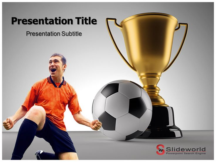 Best Sports Powerpoint Presentation Images On   Role