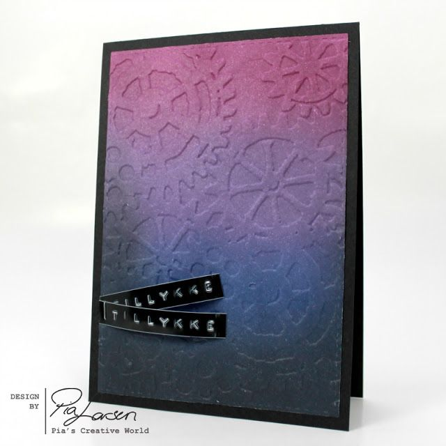 Pia's Creative World: Scrapbooking Day 2017 Recap - Ink Blending with Bl...