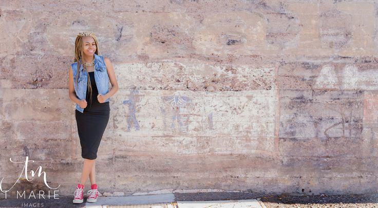 Fashion Blogger, Blue Jean Vest, Converse Tennis Shoes, African American Fashion Blogger, Natural Hair