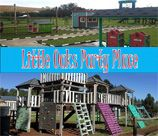 """Little Oaks Party Place is situated just 10 minutes from Cradle Stone Mall. This modern """"farm-house, country life"""" all-round Party & Events venue can be found nestled amongst the trees, surrounded by a tranquil & peaceful setting of bush, koppies & farm life. We offer a secure well maintained playground, complete with Adventure Jungle Gym, a Wendy house village, 140m bike track with wooden pumps. There is a separate Toddler play area ideal for Children's Birthday Parties and baby Showers."""