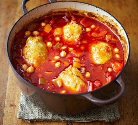 A Spanish-style one-pot stew flavoured with paprika and cumin that'll be a hit with children and adults alike
