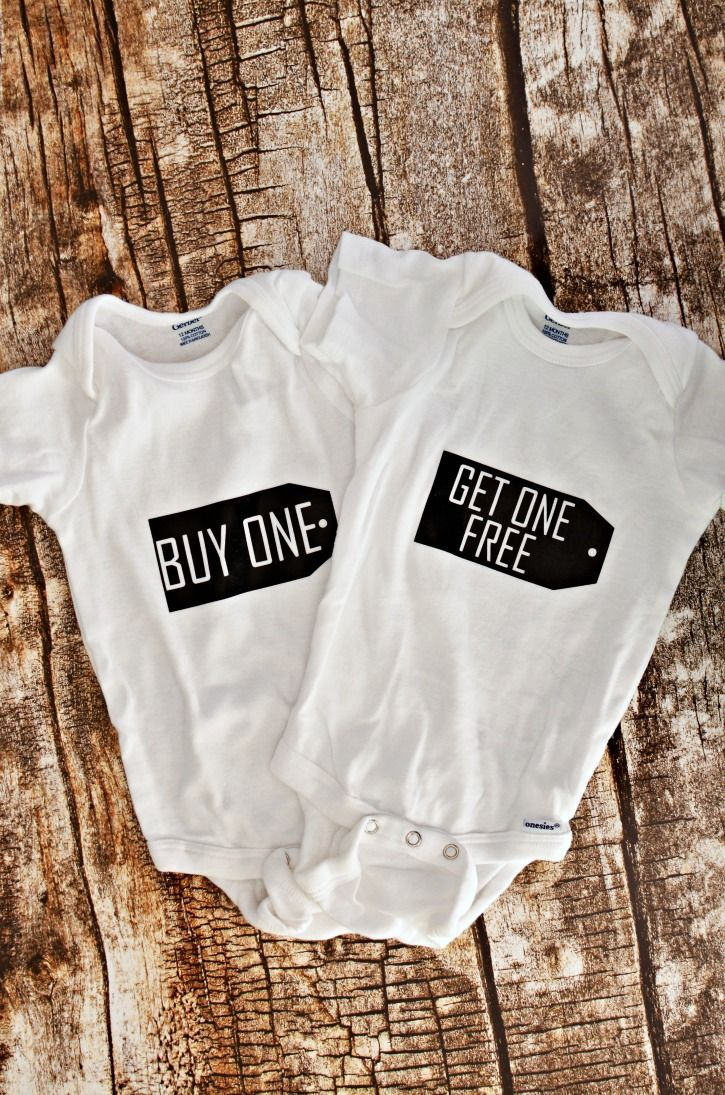 Twin Baby Shower Onesies 10 best Twins