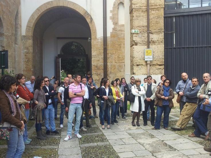 Secondo turno di #invasionedigitali #siciliainvasa #laculturasiamonoi #vocioutallosteri #igerspalermo #museiunipa # serviziocivilenazionale