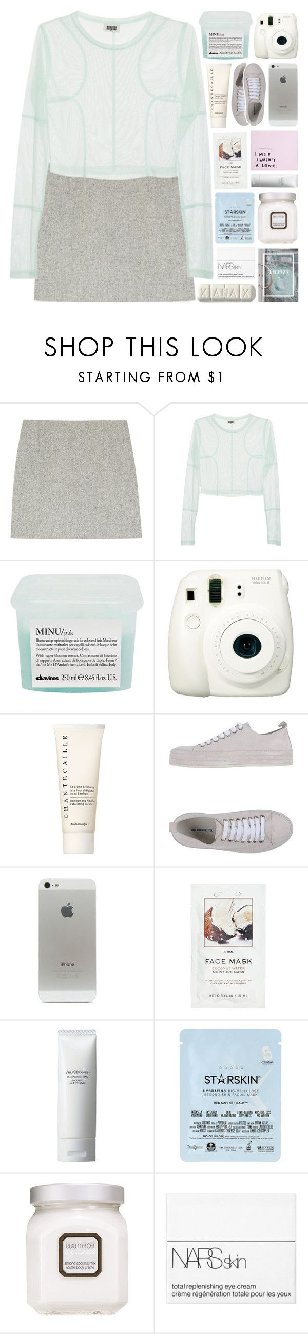 """""""difference in opinion was never an issue"""" by kristen-gregory-sexy-sports-babe ❤ liked on Polyvore featuring Atto, Davines, Fuji, Chantecaille, Ann Demeulemeester, H&M, Shiseido, Starskin, Laura Mercier and NARS Cosmetics"""