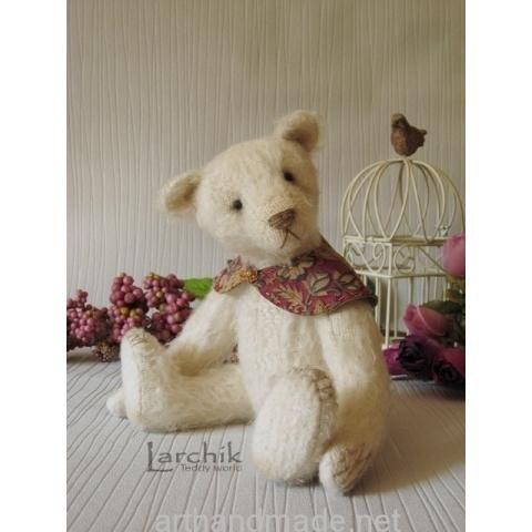 "Vintage Bear ""Fourth"". Author Larisa Oshmyanskaya - http://arthandmade.net/oshmyanskaya.larisa Teddy, bear, teddy bear, toy, collectible toy, gift, original gift, teddy artist, handmade, craft, тедди, мишка, мишка тедди, игрушка, коллекционная игрушка, подарок, оригинальный подарок, художник, ручная работа"