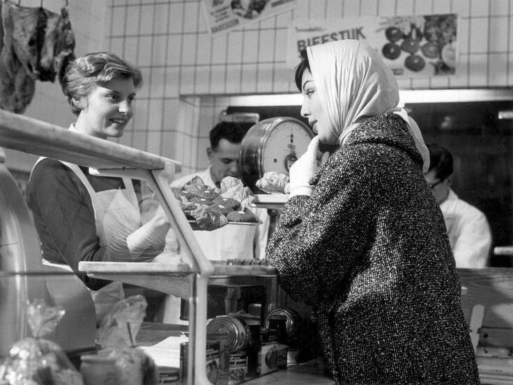bij de slager, jaren '60