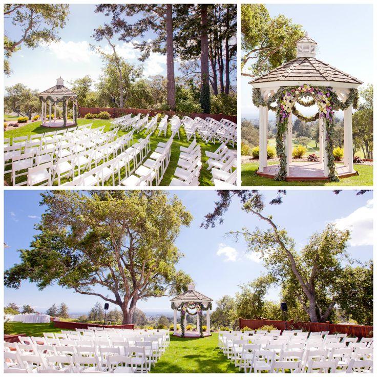Superb Wedding Ceremony, Ceremony Seating, Gazebo Floral Decor, Hollins House  Ceremony, Santa Cruz Wedding     Photography   Studio Dizon // Florist    Wil Gonzalez ...