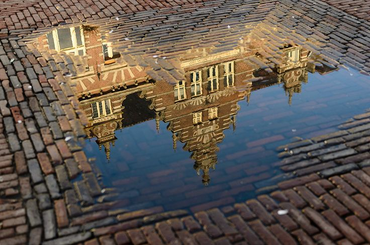 Reflection, Haarlem, the Netherlands. #greetingsfromnl