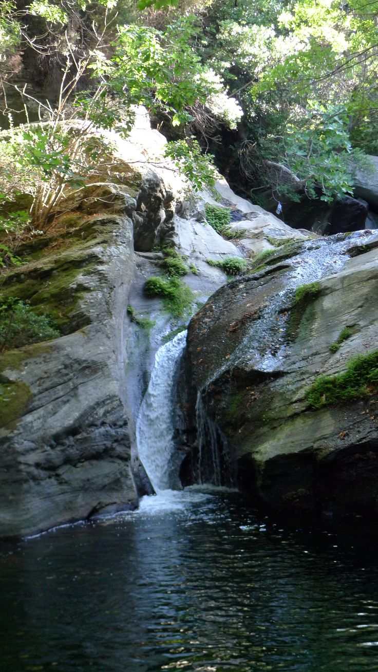 Waterfall @Onar, Achla river, Andros, #Greece
