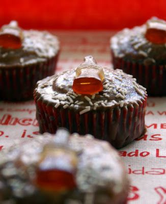 Objetivo: Cupcake Perfecto.: Cupcakes de Coca-Cola