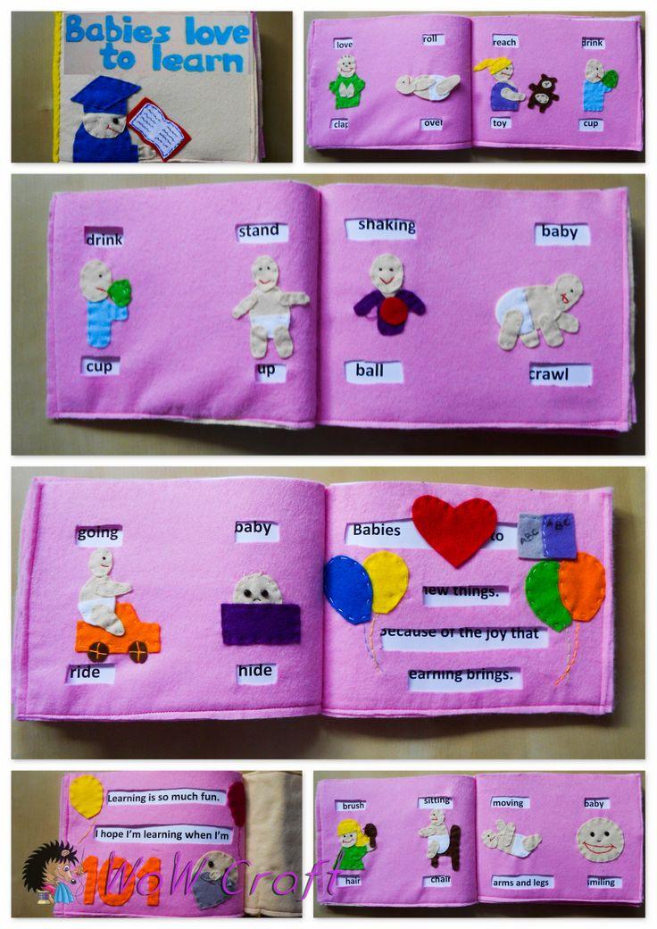Felt Book For children :)