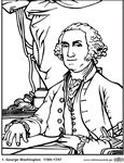 United States Presidents Coloring Pages | A to Z Teacher Stuff Printable Pages and Worksheets