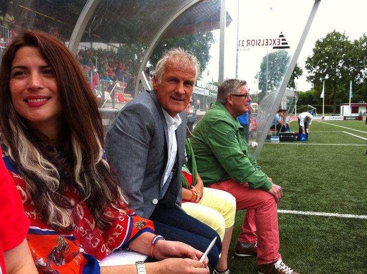 Yolande Koelhof en Fred Rutten