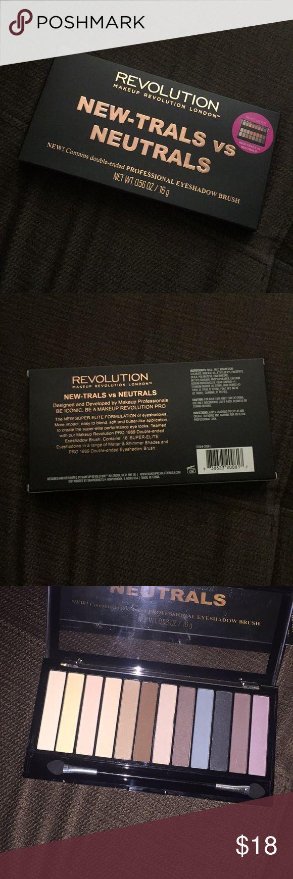 Revolution Makeup eyeshadow set ❣️Makeup Revolution London ❣️New-trals VS Neutrals palette  ❣️New never used makeup revolution london Makeup Eyeshadow
