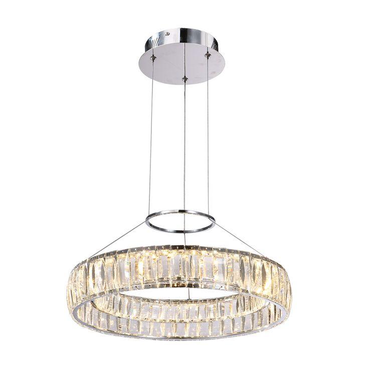 Lampa wisząca MAXIS LED 30W chrom Italux MD14066703-1A