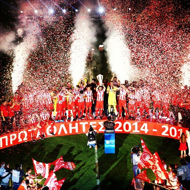 Olympiakos FC once again the Champions for 2014-15!The 42nd championship in the glorious history of the club!