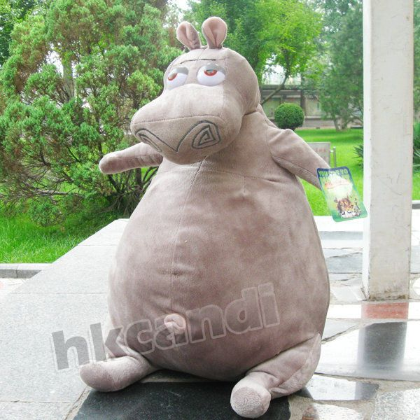 Madagascar Gloria Hippo Stuffed Animals