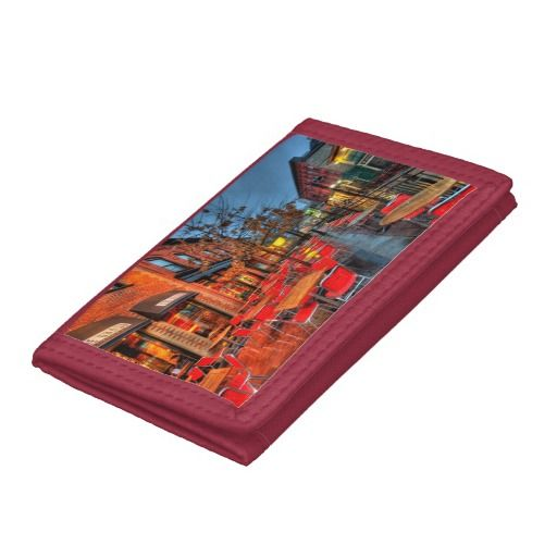 Street Reflections Tri-fold Wallet