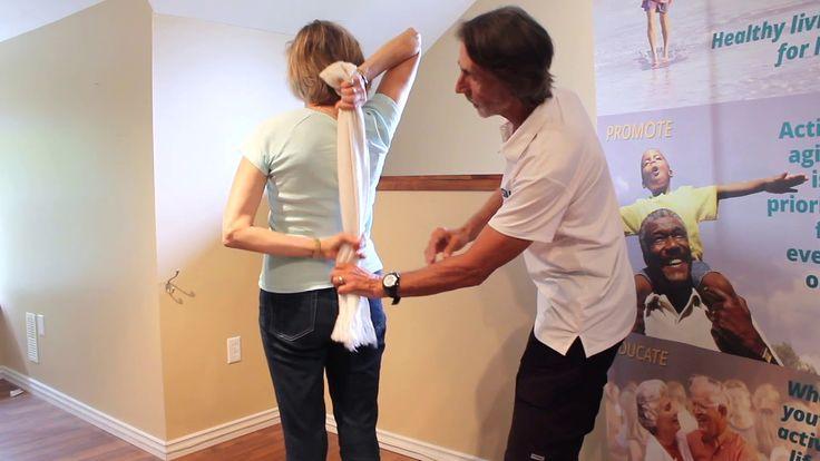 Active Aging Minute - Upper Body Flexibility #centre4activeliving #olderadult #senior #physicalactivity #activeagingvideo #bodyflexibility