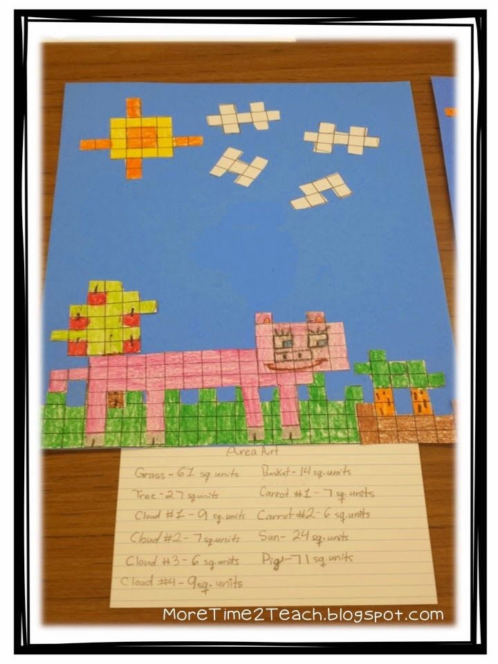 More Time 2 Teach: Area & Perimeter: A Hands on Approach
