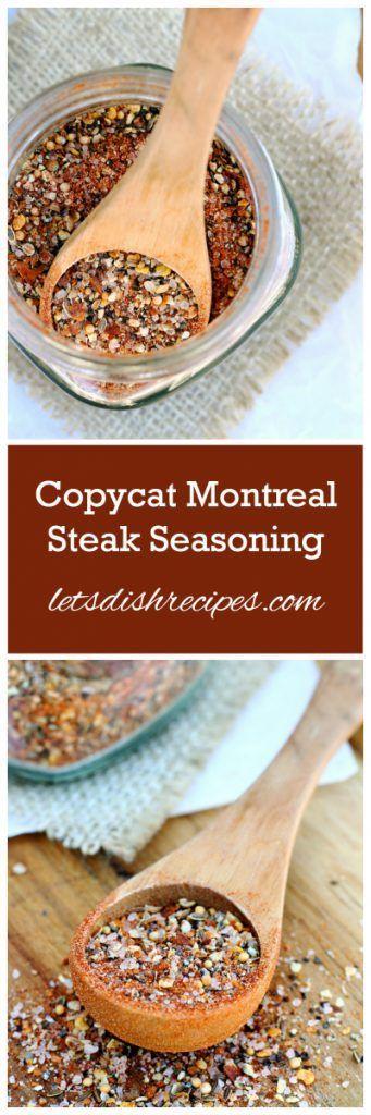 Copycat Montreal Steak Seasoning Recipe