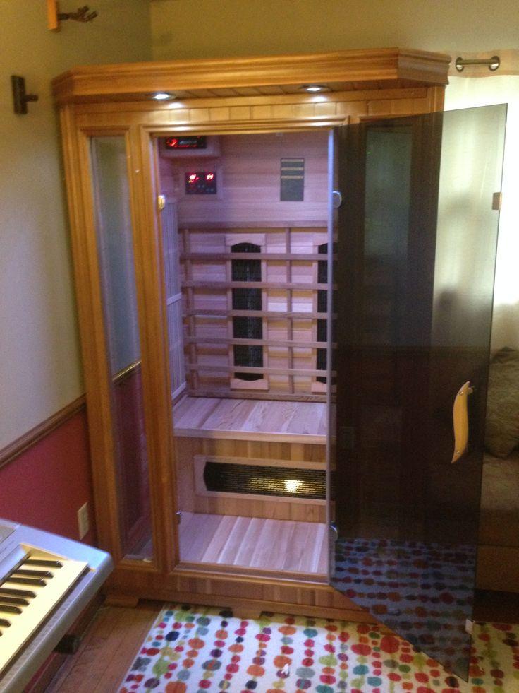 Good Health Saunas GSeries 2Person Deluxe Hemlock Wood