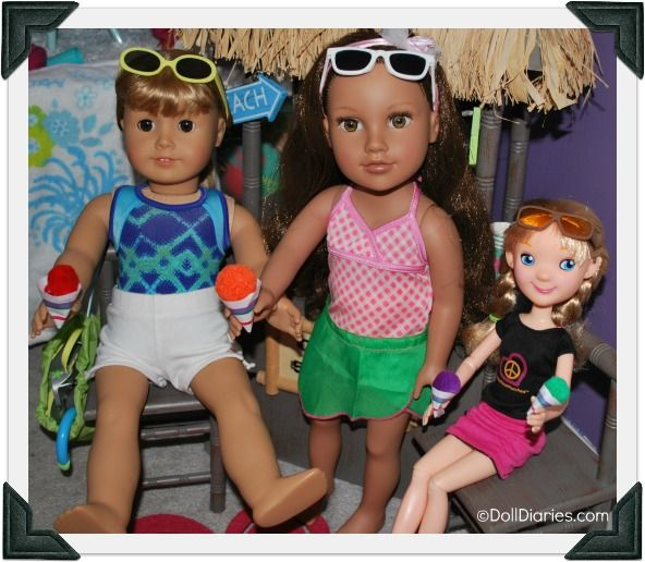 How to make snocones for dolls: Groovy Girl, Girl Doll, Doll Crafts, 27 Sunglasses, Ag Doll, Including American, American Girls