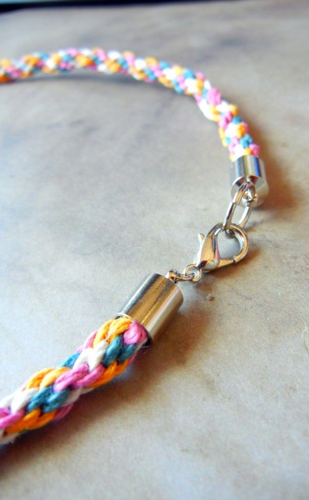 How to finish a multi strand necklace with