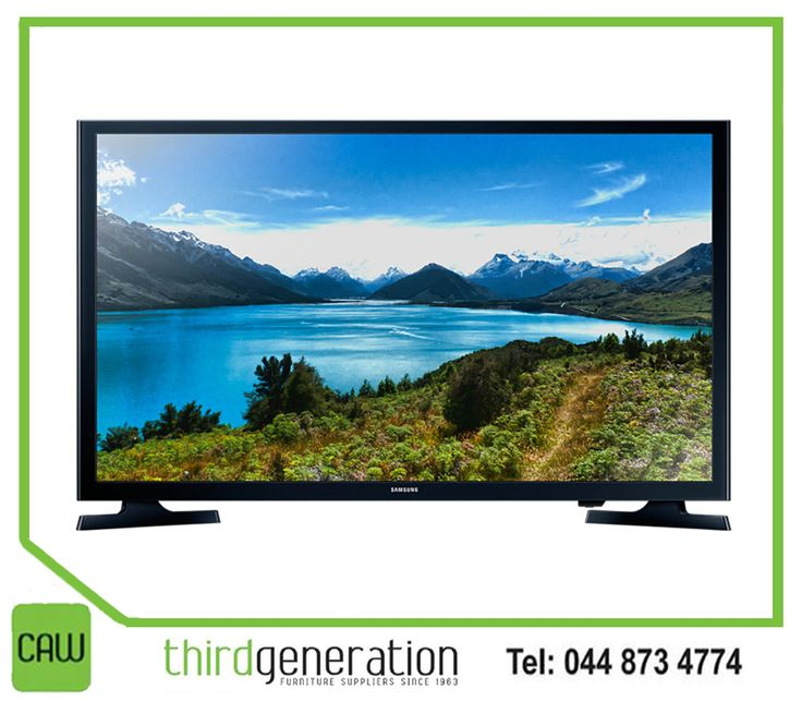 "Bring a full multimedia experience into your living room with the #Samsung 32"" flat screen TV from #ThirdGenerationCAW. Visit us in-store or contact us on 044 873 4774."