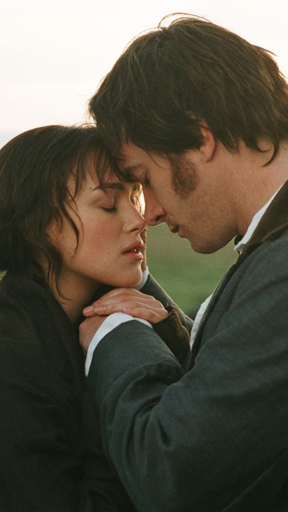 Keira Knightley and Matthew Macfadyen in Pride and Prejudice