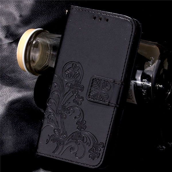 P9 Leather Wallet Flip For Huawei Ascend G7 P8 P9 Lite Plus Case Retro Embossed Flower Phone Cases Card Slot Stand Holder Cover