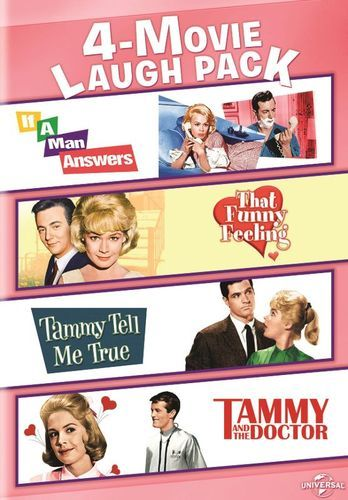 4-Movie Laugh Pack: If a Man Answers/That Funny Feeling/Tammy Tell Me True/Tammy and the Doctor [DVD]