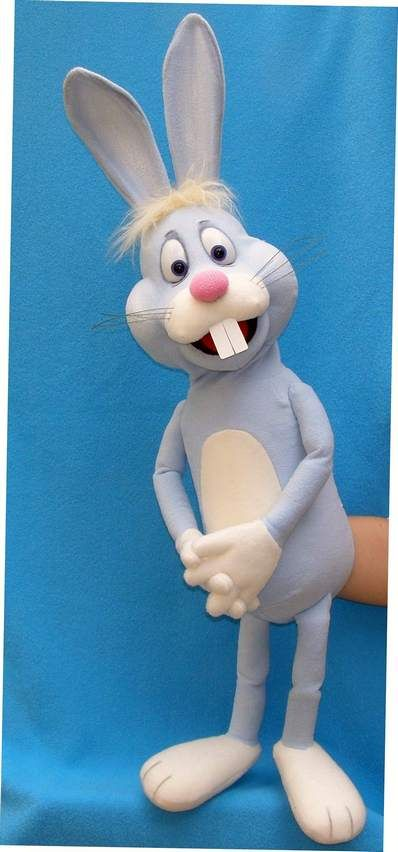 Mikky the rabbit puppet, Puppet for sale